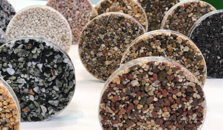 Resin samples